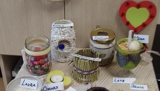 Pašgatavoto svečturu izstāde