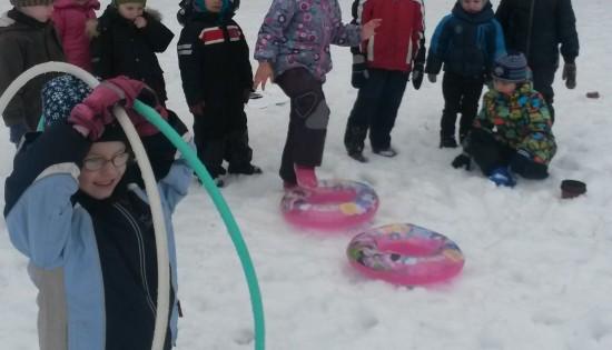 Sporta aktivitātes ar pēdējo sniegu!