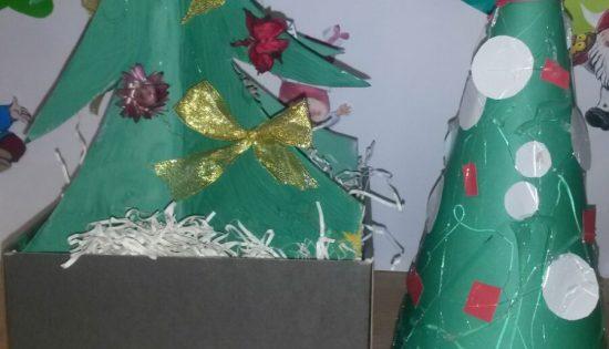 Ziemassvētku kompozīciju izstāde vecākajā grupā ''Zīļuki''