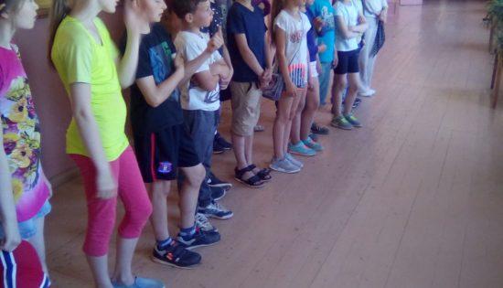 Sporta diena Līvu sākumskolā